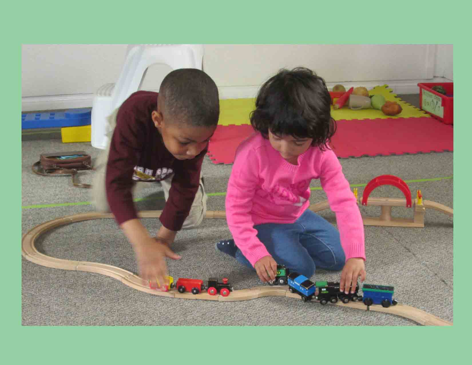 Chestermere-Playing-with-Trains-Preschool