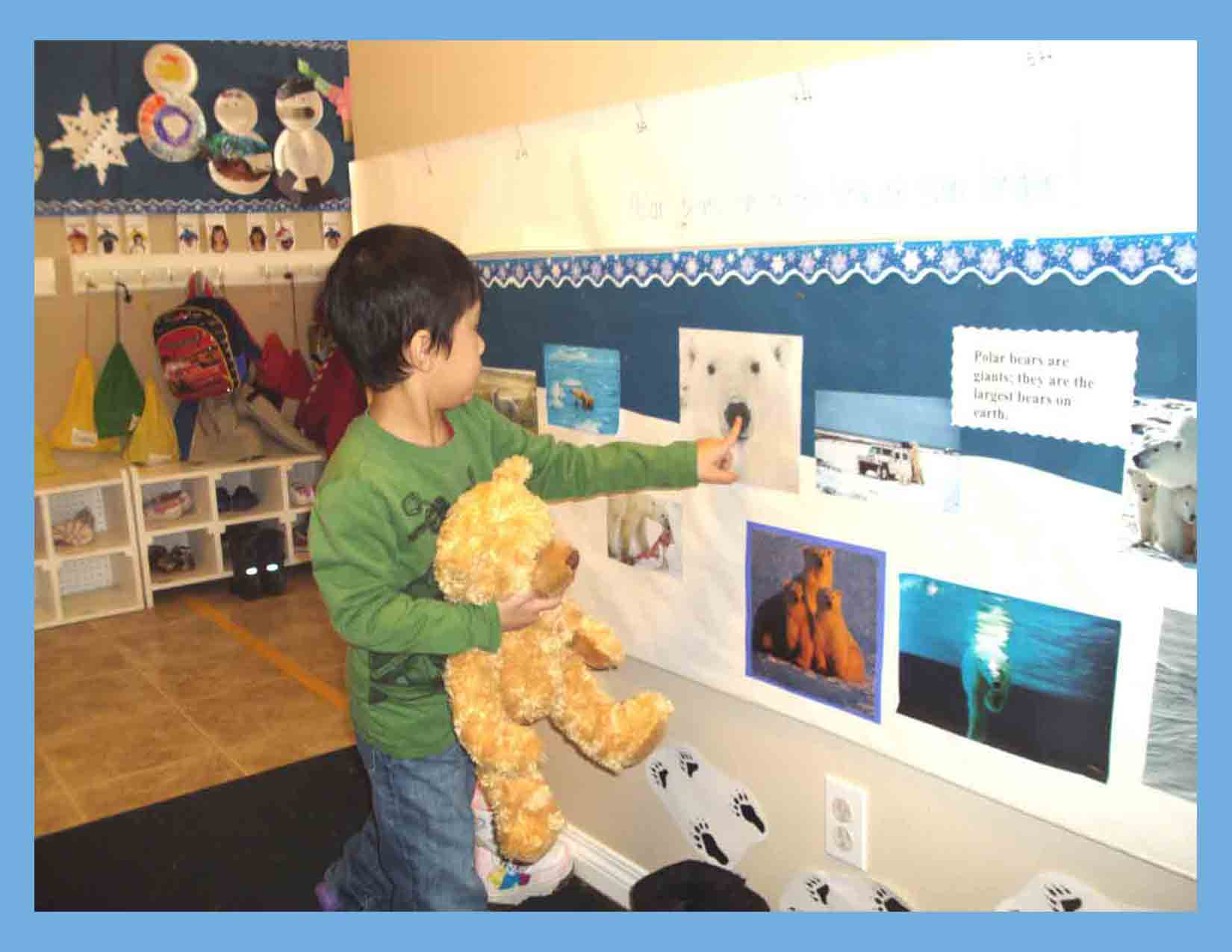 Chestermere-Polar-Bears-Display-Preschool